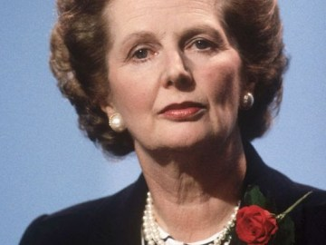 Margaret+Thatcher,+British+Prime+Minister,+addresses+the+annual+Conservative+Party+Conference+on+October+10,+1986b