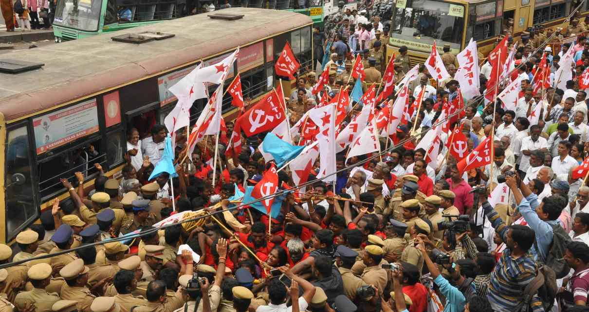 TNUEF Walk against Honour Killings: March to Chennai City.