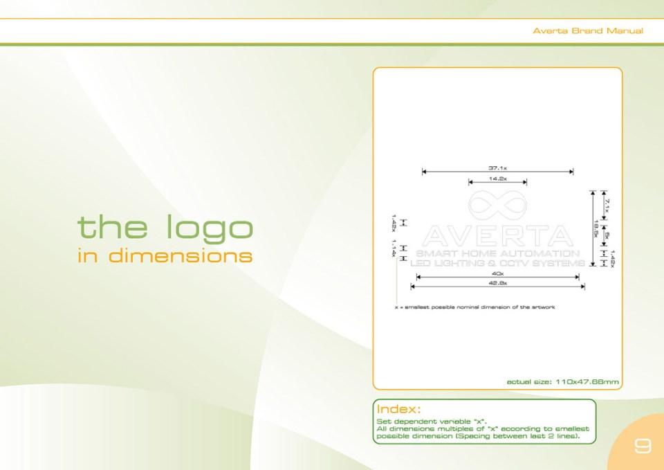 Averta Systems Logo Manual