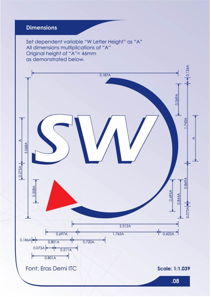 Southwest Airlines Logo Dimensions