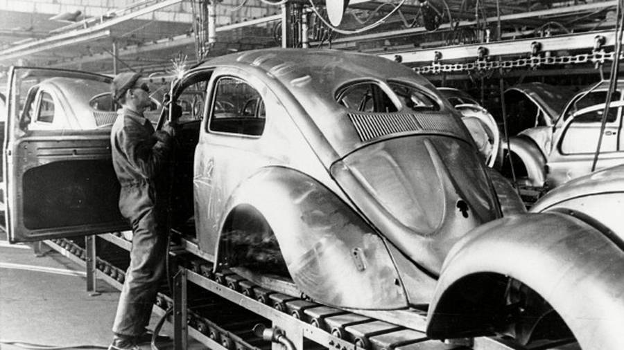 """The History of the VW Beetle & The Rare """"Zwitter"""""""