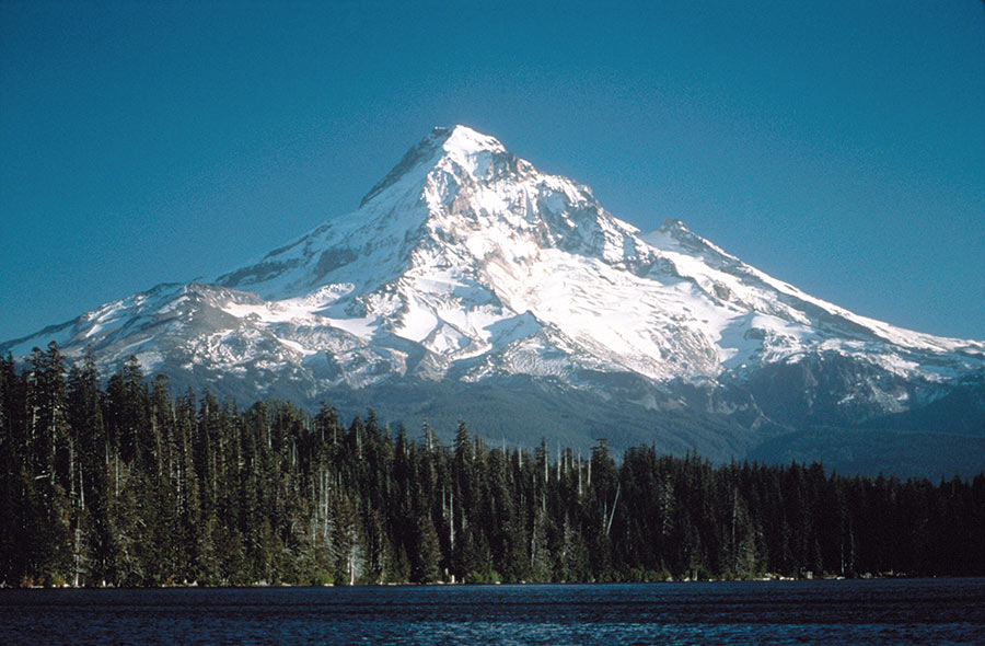 Mt Hood and Lost Lake