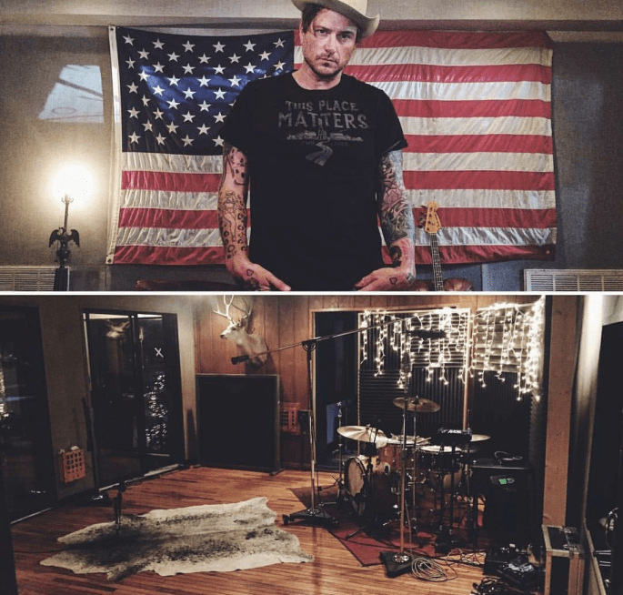 @butchwalker This is my studio in Nashville. It's in the old Warner Music building from the 50's and was a studio here, all the way up until the present. There's been countless hits and amazing country and rock n roll songs recorded here over the years. It's smells a little funny. It's maybe haunted (hell, it was a morgue at one time!). But I love it. It's got vibe for days, sounds incredible, and people dig working here. Aside from being able to feel the history in here, you can also feel the walls shake every time they blast the concrete all around me, putting up another bland, boring, Dubai-looking glass condo building here in midtown. Im literally surrounded by them now, and I suspect this building will be gone by the end of the year. This place matters. It matters to music. It matters to the history of the city. If I were made of millions of dollars, I'd buy it and restore it. But I can't. The people that mostly can afford that around here are contractor/developers that would rather keep homogenizing this precious city with more condos. Hard to stop progress I know... But it doesn't make it hurt less. Guess I will just try to make as much music as I can in this building, while I can. THIS PLACE MATTERS.  @mikewolfeamericanpicker / @savingplaces / @ontwolanes / #placestosave