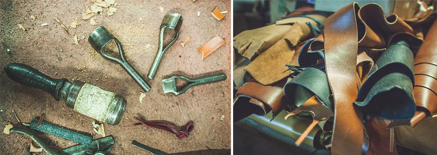 Making leather guitar straps