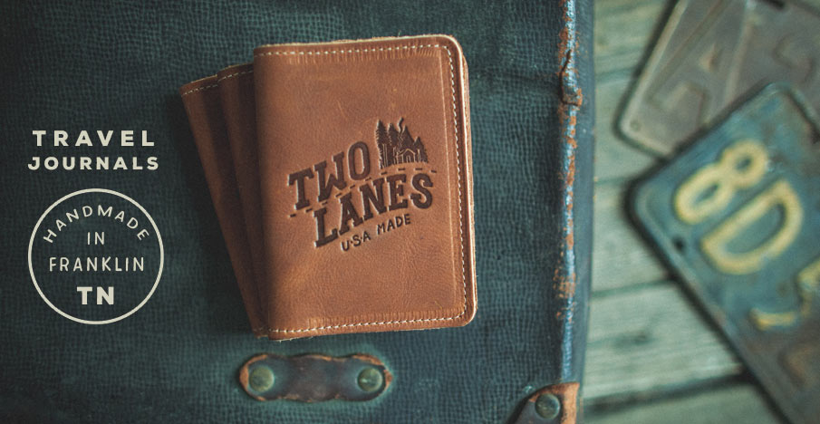 leather travel journals