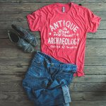 Wear It With: Gas Station Logo Vintage Style Red Tee