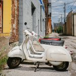 The Language of Love: Italian Vespas Restored in an Iowa Alley