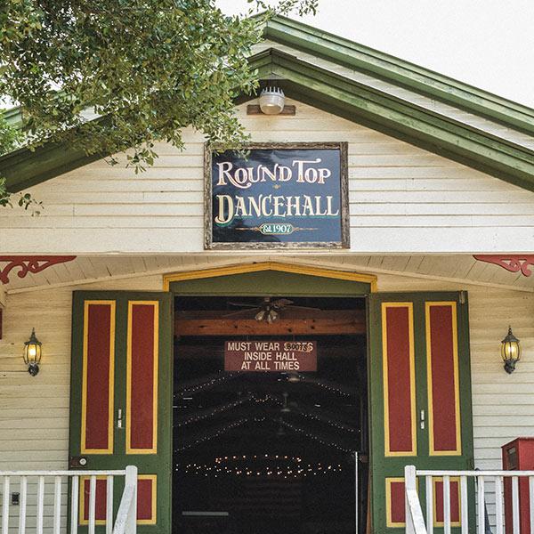 Round Top Dance Hall Texas