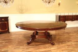 Small Of Large Round Dining Table