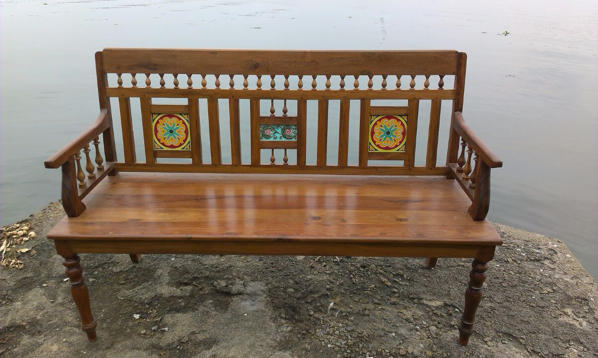 ANTIQUE BENCH FOR SALE IN INDIA TEAK WOOD FURNITURE Antique Wooden Bench N28