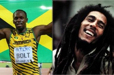 bob marley, usain bolt, jamaica, antoinespeaks