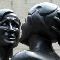 De Liefde van Joseph Mendes da Costa (detail, beeldenpark Kröller-Müller Museum)