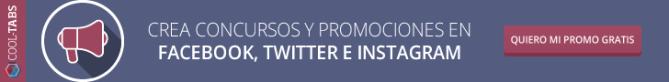 Crea concursos y promociones en Facebook con Cool-Tabs