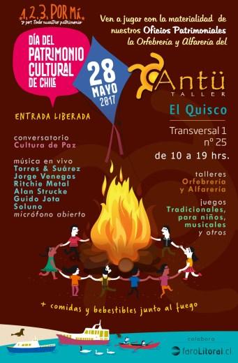 Día Patrimonio Cultural - Antu Taller 2017