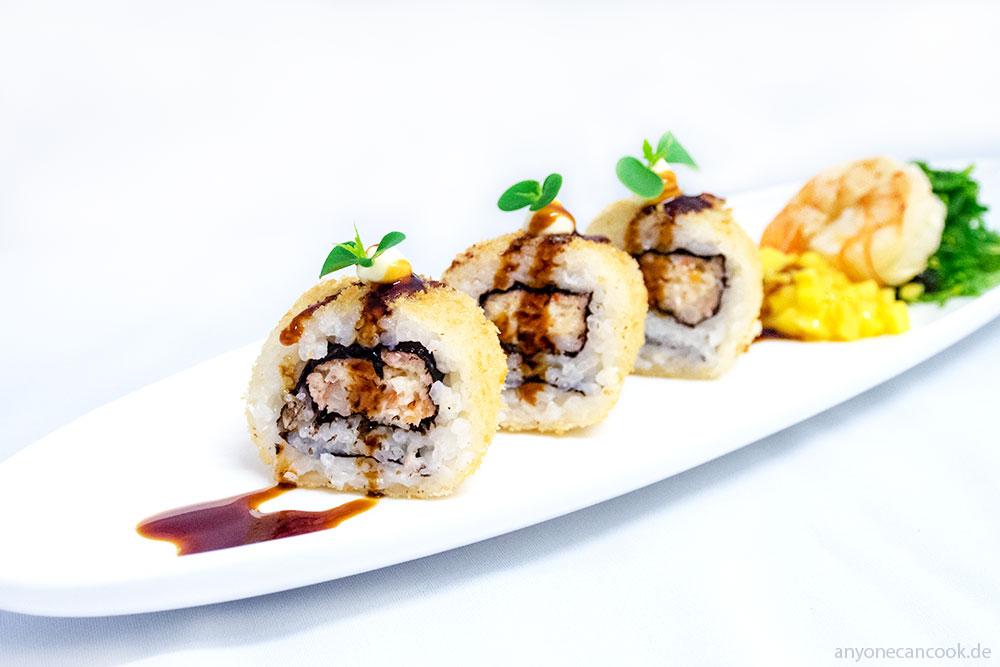Gebackenes Sushi