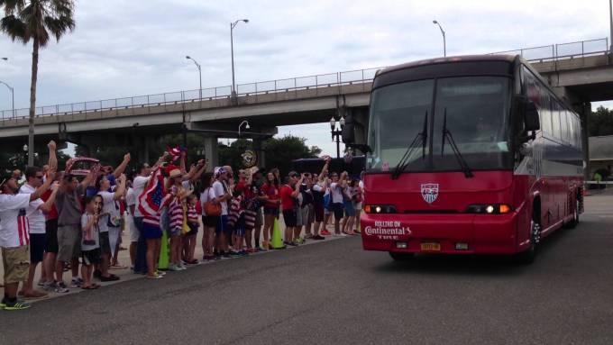 US Soccer Bus