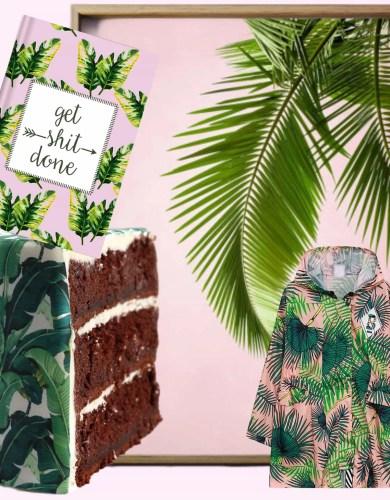 Découvertes du Week-end: Tropical Palm Leaf Inspiration