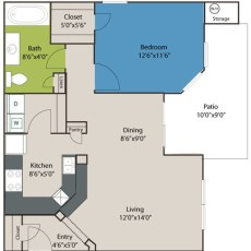 14515-briar-forest-floor-plan-a2-746-sqft