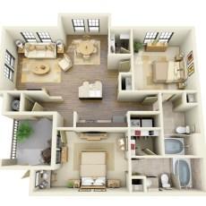 14723-t-c-jester-blvd-floor-plan-1053-3d-sqft