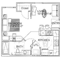 16350-ella-blvd-floor-plan-a1b-464-sqft
