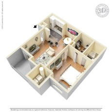 501-davis-league-floor-plan-655-1-sqft