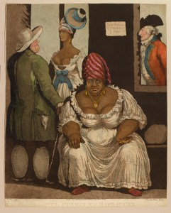 Rachel Pringle of Barbadoes (1796) By Thomas Rowlandson (1756-1827) Royal Collection Trust / © Her Majesty Queen Elizabeth II, 2015