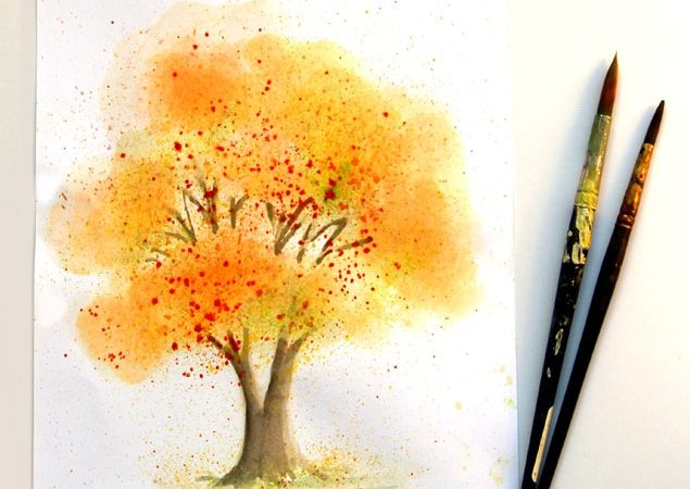 Learn watercolor painting easily | A Piece Of Rainbow