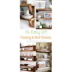 Enthralling Wall Shelvesfor Your Check Easy Easy Tutorials On Building Floating Shelves Floating Shelves Design Ideas Floating Shelves Designs Diy Floating Shelves Wall Shelves A Piece