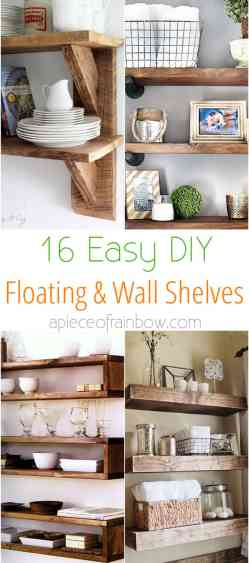 Small Of Floating Shelves Wall