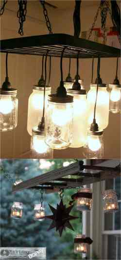 Small Of Mason Jar Light Fixture