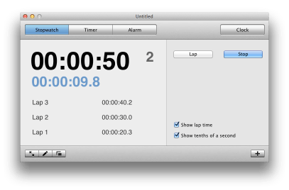 Timer for Mac - Stopwatch