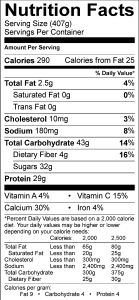 nutrition-label-for-peanut-butter-yogurt