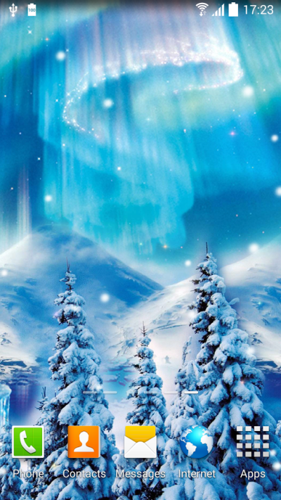 Snowfall Live Wallpaper » Apk Thing - Android Apps Free Download