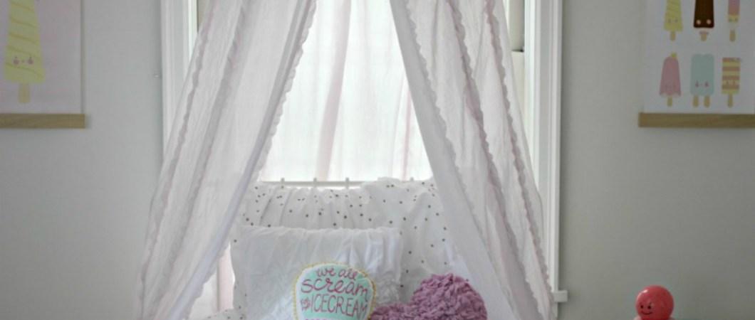 New Home Tour: Abigail's Ice Cream Bedroom
