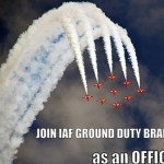 How to join IAF Ground Duty Branch as an Officer