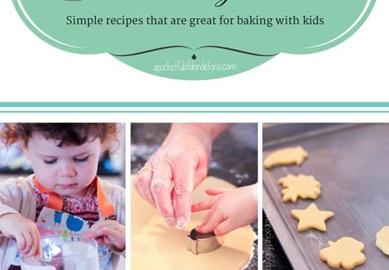 Cake please Mummy! A biscuit recipe