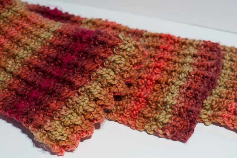 echarpe-tricot-cotes-anglaises