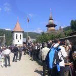 Adevărul.ro: Părintele Justin, jelit de o mare de credincioşi