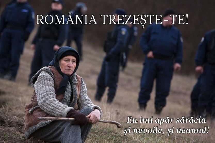 Romania TREZESTE-TE, te apara o bunica