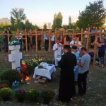 Exemplar: Români în apărarea Crucii și a pământului strămoșesc împotriva invaziei păgâne și a construirii moscheei