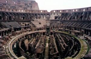 Coliseum tunnels