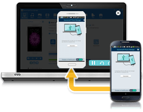 display mobile screens