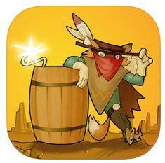 Gunpowder kurzzeitig für iPhone und iPad kostenlos: Im Wilden Westen Tresore sprengen