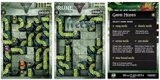 Nur heute kostenlos: Rune Trails als Vollversions App für iPhone und iPod Touch