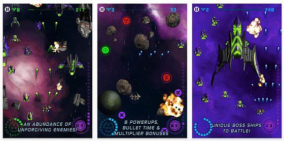 Arcade Shooter StarCannon heute wieder kostenlos: Ballern bis der Akku brennt…