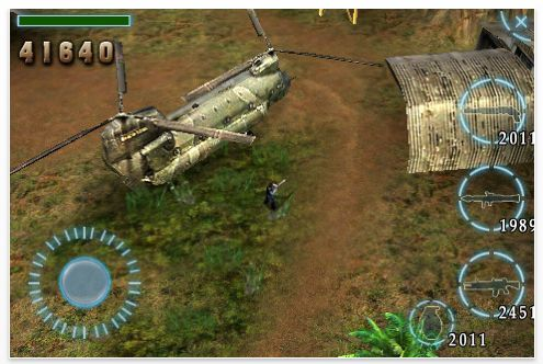 Screenshot Assault Commando für iPhone und iPod Touch