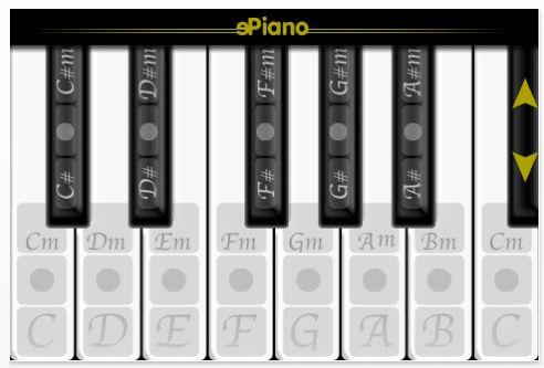 ePiano für iPhone und iPod Touch Screenshot