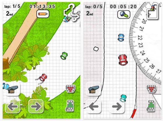 Doodle Kart für iPhone und iPod Touch Screenshot