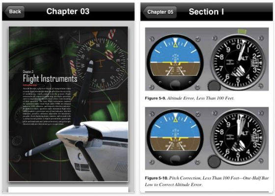 FAA INstrument Flying Manual Screenshot