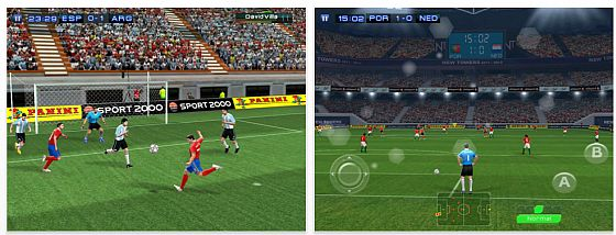 Real Football für das iPad in HD